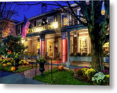 Colonial Inn Concord Ma -historic Sites Metal Print by Joann Vitali