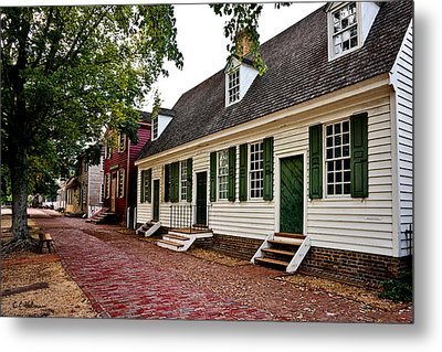 Colonial Times Metal Print by Christopher Holmes