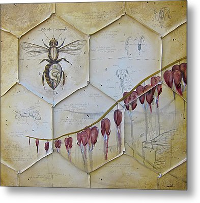 Colony Collapse Disorder Metal Print by K Llamas