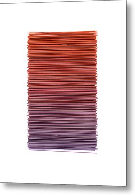 Color And Lines 3 Metal Print by Scott Norris