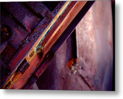 Metal Print featuring the photograph Color Burst.. by Al Swasey