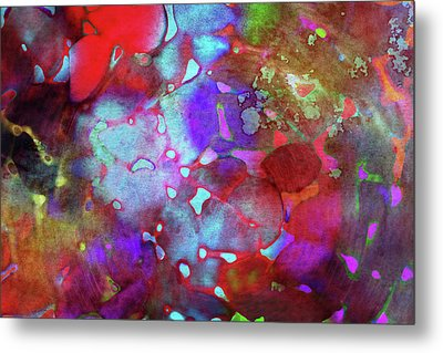 Color Burst Metal Print by AugenWerk Susann Serfezi