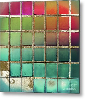Color Chart Multi Metal Print by Mindy Sommers