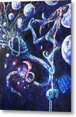 Color Creation Myth Metal Print by Shelley Irish