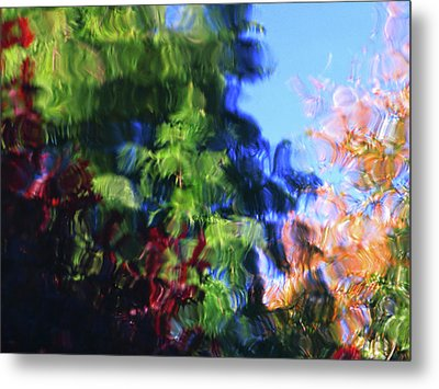 Color In Motion Metal Print