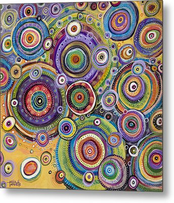Color Me Happy Metal Print by Tanielle Childers