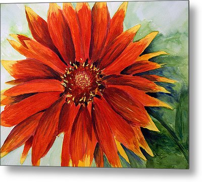 Color My Daisy Metal Print by Tina Storey