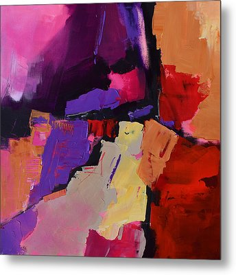 Color My Dreams - Art By Elise Palmigiani Metal Print by Elise Palmigiani