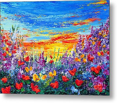 Color My World Metal Print