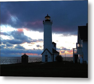 Color Of December, Tibbetts Point Lighthouse Metal Print