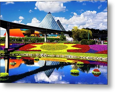 Metal Print featuring the photograph Color Of Imagination by Greg Fortier