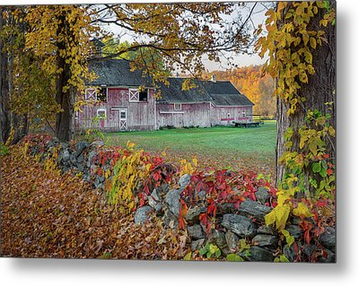 Color Of New England Metal Print by Bill Wakeley
