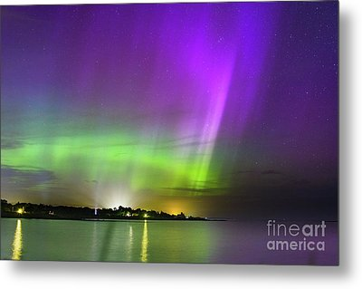 Color Of The Night Metal Print