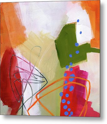 Color, Pattern, Line #4 Metal Print by Jane Davies
