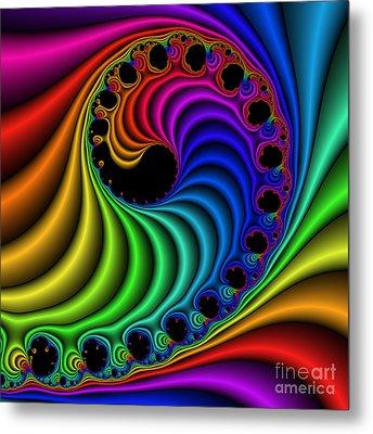 Color Ribs 116 Metal Print by Rolf Bertram