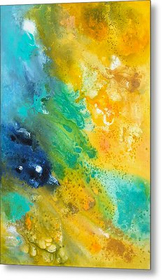 Color-splash Metal Print