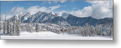 Colorad Winter Wonderland Metal Print by Darren White