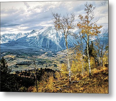 Metal Print featuring the photograph Colorado Autumn by Jim Hill