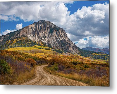 Colorado Backroads Metal Print by Darren White
