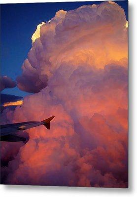 Colorado Cloud Metal Print by Gina Cordova