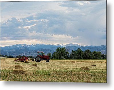Metal Print featuring the photograph Colorado Country by James BO Insogna