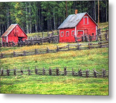 Colorado Countryside  Metal Print by Charlotte Schafer