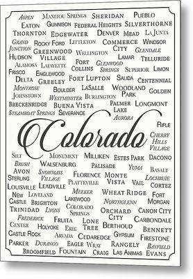 Colorado Metal Print by Finlay McNevin