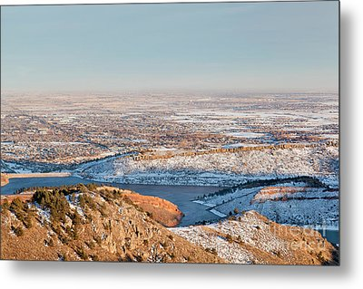 Colorado Front Range And Plains Metal Print by Marek Uliasz