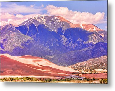Colorado Great Sand Dunes National Park  Metal Print by James BO  Insogna