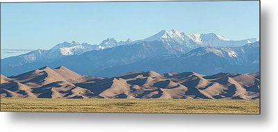 Colorado Great Sand Dunes Panorama Pt 1 Metal Print by James BO Insogna