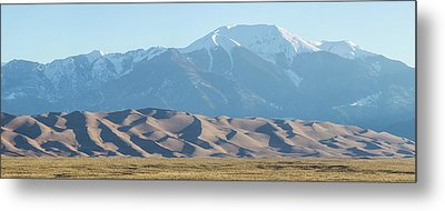 Colorado Great Sand Dunes Panorama Pt 2 Metal Print by James BO Insogna