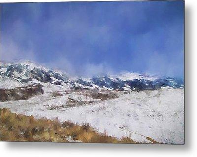 Colorado Mountains 2 Landscape Art By Jai Johnson Metal Print