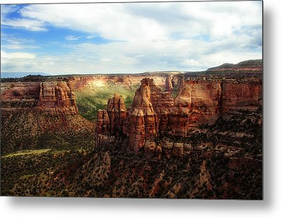 Colorado National Monument Metal Print by Marilyn Hunt