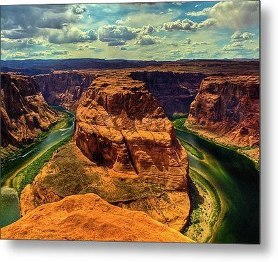 Colorado River At Horseshoe Bend Metal Print