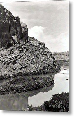 Metal Print featuring the photograph Colorado River by Juls Adams
