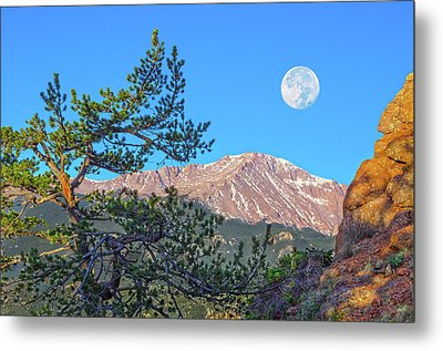 Colorado Rocky Mountain High, Just A Breath Away From Heaven Metal Print