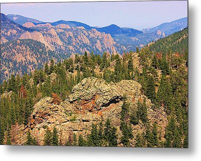 Metal Print featuring the photograph Colorado Rocky Mountains by Sheila Brown