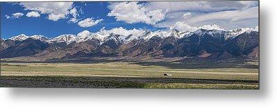 Colorado San De Cristo Mountains Panorama View Metal Print by James BO Insogna