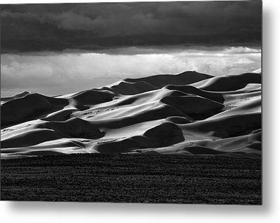 Colorado Sand Dunes Metal Print by Mark Courage