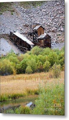 Colorado Silver Mine  Metal Print