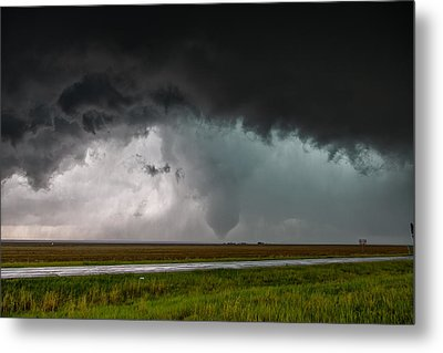 Metal Print featuring the photograph Colorado Tornado by James Menzies