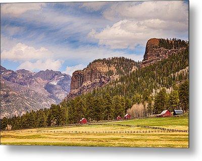 Colorado Western Landscape Metal Print