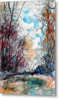 Colorful Autumn Metal Print by Kovacs Anna Brigitta