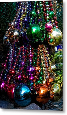 Colorful Baubles Metal Print by Christopher Holmes