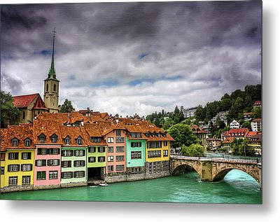 Colorful Bern Switzerland  Metal Print