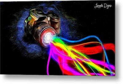 Colorful Cam - Da Metal Print by Leonardo Digenio