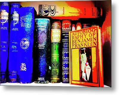 Metal Print featuring the photograph Colorful Classics by Toni Hopper