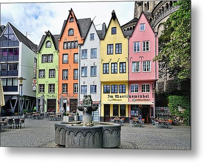 Colorful Cologne Metal Print by Lanis Rossi