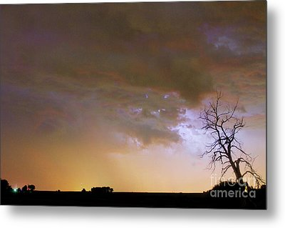 Colorful Colorado Cloud To Cloud Lightning Striking Metal Print by James BO  Insogna