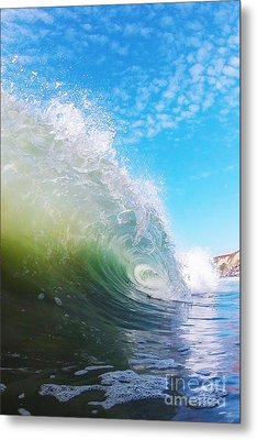 Colorful Curl Metal Print by Paul Topp